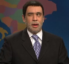 David Paterson on SNL