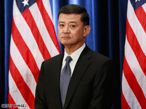 Retired General Eric Shinseki