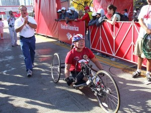 Tammy Duckworth Finishes the Chicago Marathon