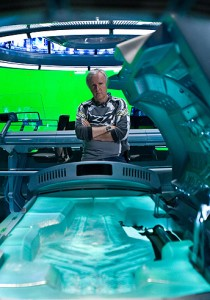 James Cameron working on Avatar. Photo: Mark Fellman 2009 Twentieth Century Fox