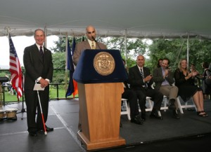 Mayor Bloomberg hosts reception in honor of the 19th anniversary of the Americans with Disabilities Act. August 12, 2009