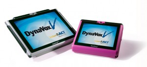 Dynavox's VMax series is a speech-generating device and computer.