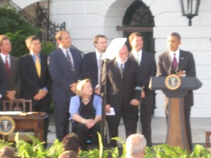 Obama speaking about the ADA