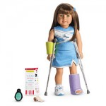 American Girl crutches