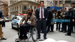 Ironside in a wheelchair during a detective investigation in NYC